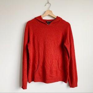 Avellini 100% Luxury Cashmere Hooded Sweater XL